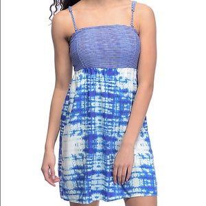 Roxy blue summer dress